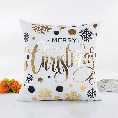 Christmas Decoration Pillowcase Snowflake Pillow Cover