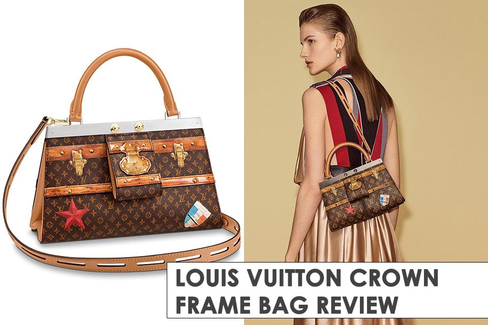 04ed00e543c This Louis Vuitton Crown Frame Bag Is Inspired By The Maroquin City Bag  from the 1930 s. More info here.