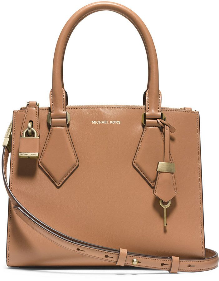cbb88d9359db0b Michael Kors Casey Small Satchel Bag, Peanut | Handbags | Cheap ...