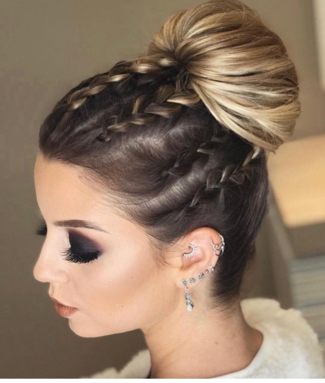 Peinado Peinados Con Trenzas Pelo Corto Peinados Con Pelo Recogido Peinados Pelo Largo