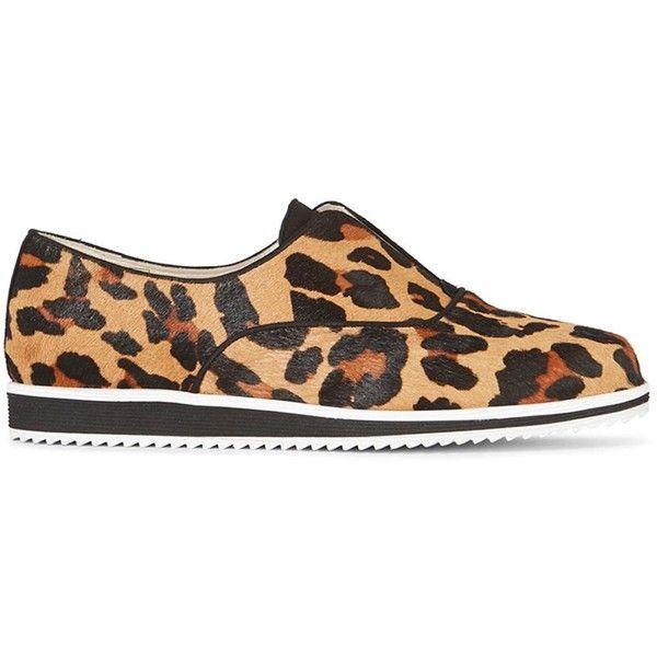 Karen Millen Leopard Print Faux Fur