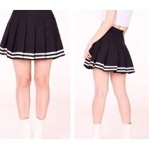 366761cbe Polleras Tennis Skirts Tableadas Stripes | outfits hermosos en 2019 ...
