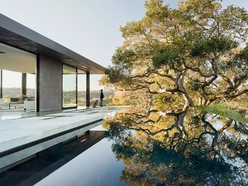 Wat krijg je als je design luxe ruimte én een fraaie omgeving
