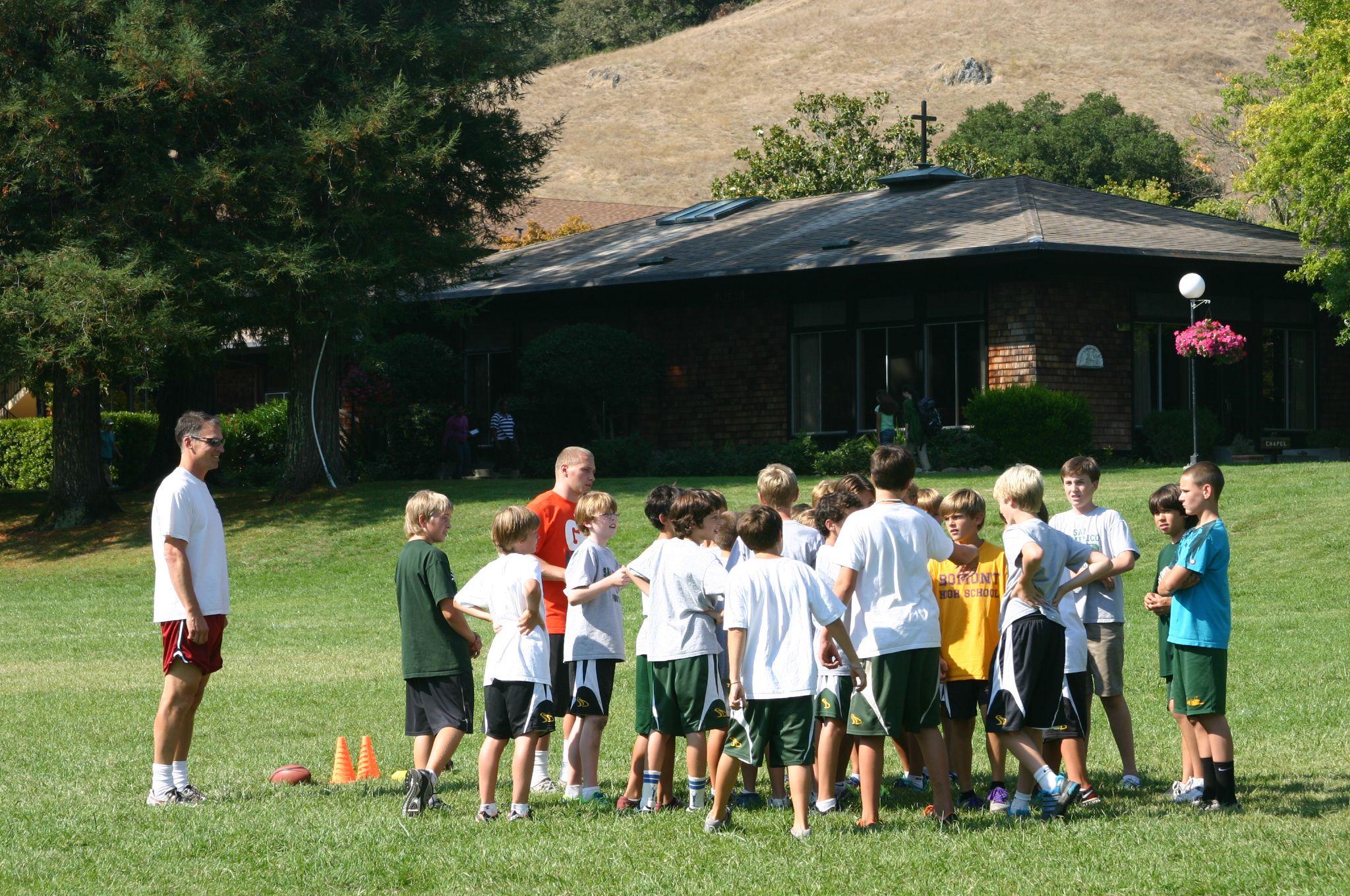 Flag Football Www Sandomenico Org Independent School Flag Football San Domenico