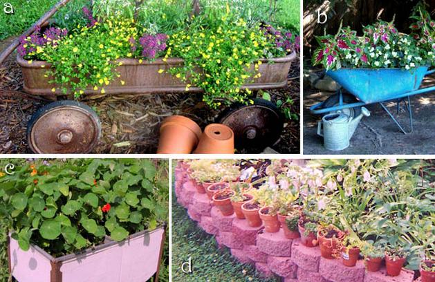 Raised Bed Gardening Flea Market Style Flea Market Gardening Cheap Raised Garden Beds Recycled Garden Edging