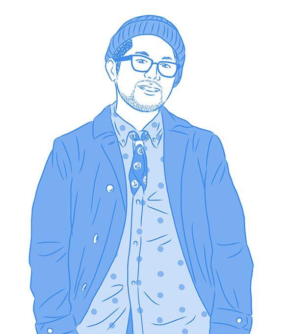 ブルーを基調としたストリートスナップイラスト「Le Bleu」シリーズ。|ハンドメイド、手作り、手仕事品の通販・販売・購入ならCreema。