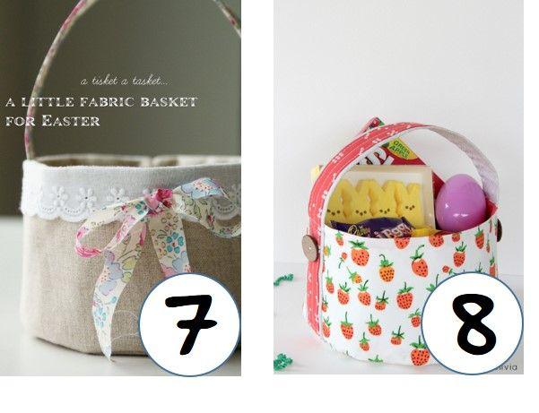 Top DIY Sweet Easter Baskets