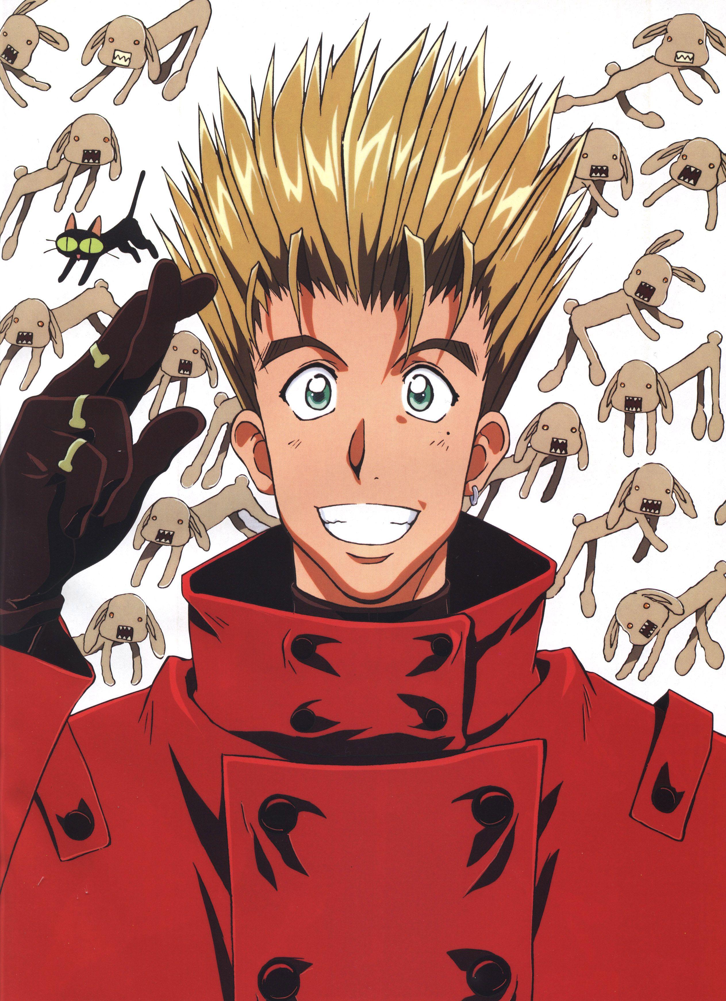 Trigun (With images) Trigun, Anime, Manga anime