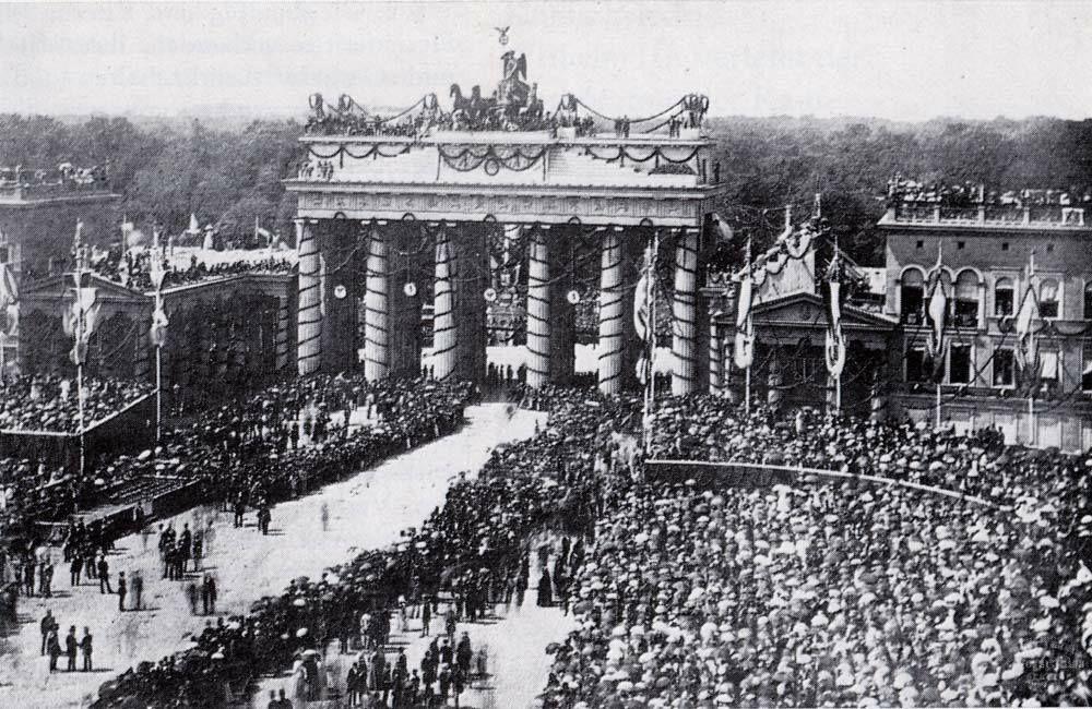 Brandenburger Tor Brandenburger Tor Berlin Deutsches Kaiserreich