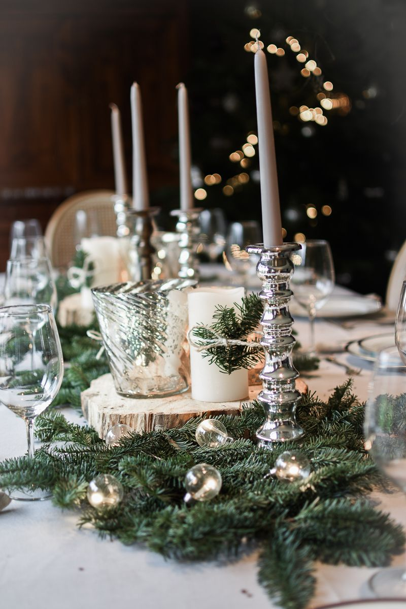 Inspiration d corations de no l decoration noel - Decoration de noel pour table a faire soi meme ...