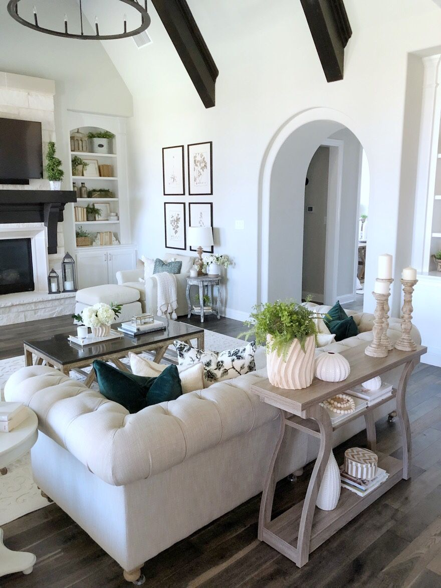 Spring Living Room Update With Ebay My Texas House Spring