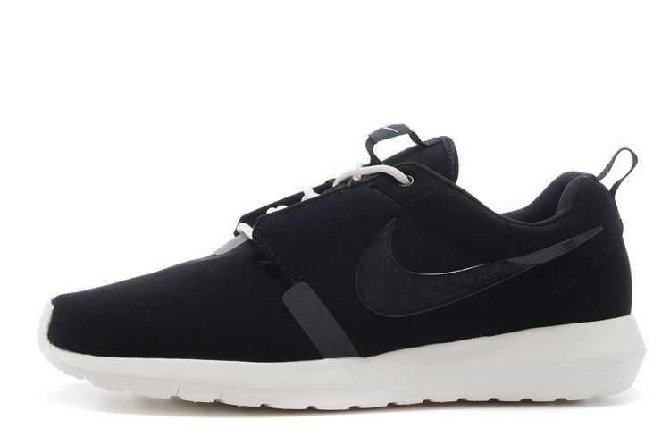 Nike Roshe Run Anti Fur Mens 3m Reflective Black White Shoes | Nike Roshe Run Mens Sale