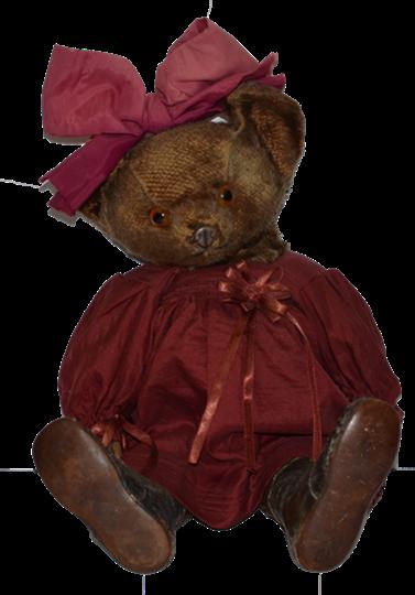Old Teddy Bear Knickerbocker Rare Metal Nose Mohair Jointed Old Teddy Bears Teddy Bear Vintage Teddy Bears