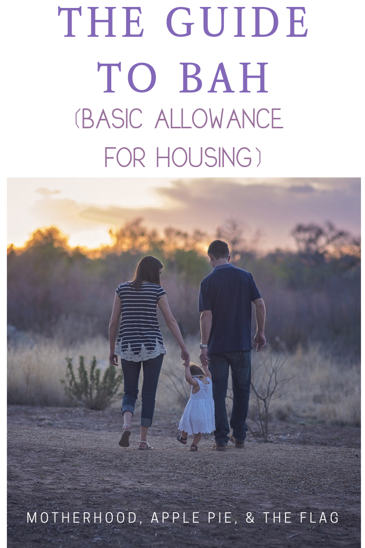The Guide to BAH Basic Allowance for Housing Military