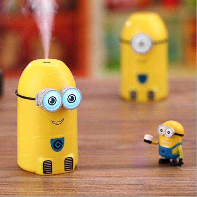 Cute Cartoon Air Humidifier Ultrasonic Aroma Diffuser Humidifier For Home Essential Oil Diffuser Mist Maker Fogger