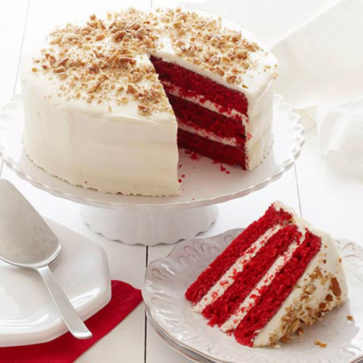 Southern Red Velvet Cake Recipe In 2020 With Images Red