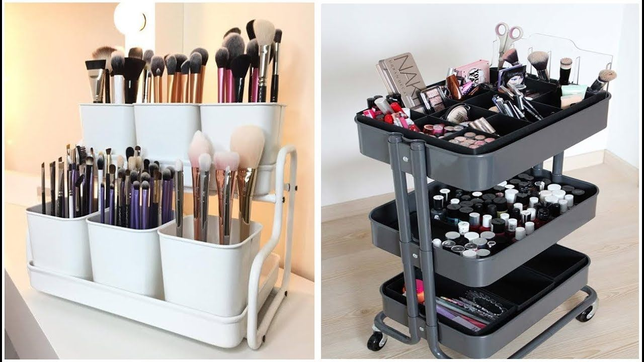 12 Ikea Makeup Storage Ideas Storage Ideas For Small Spaces Ikea