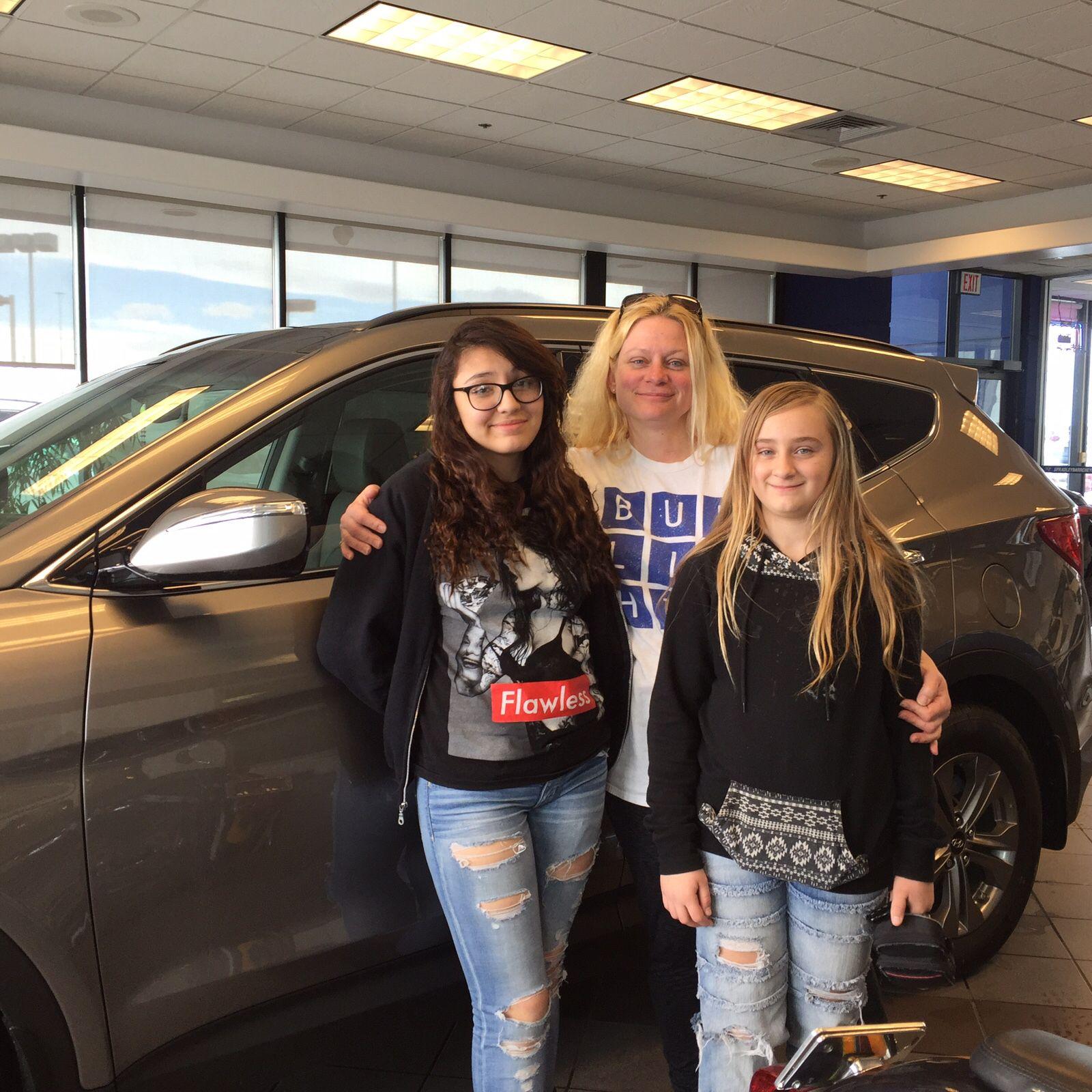 Congratulations Jennifer Overbay on your new 2016 Hyundai Santa Fe
