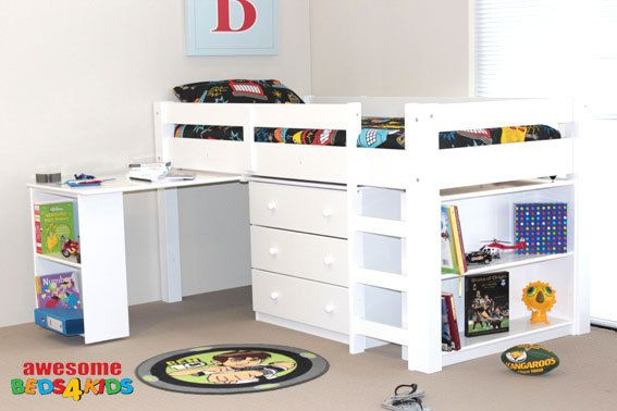 Rio Midi Sleeper | Kid beds, Bed, Cool beds