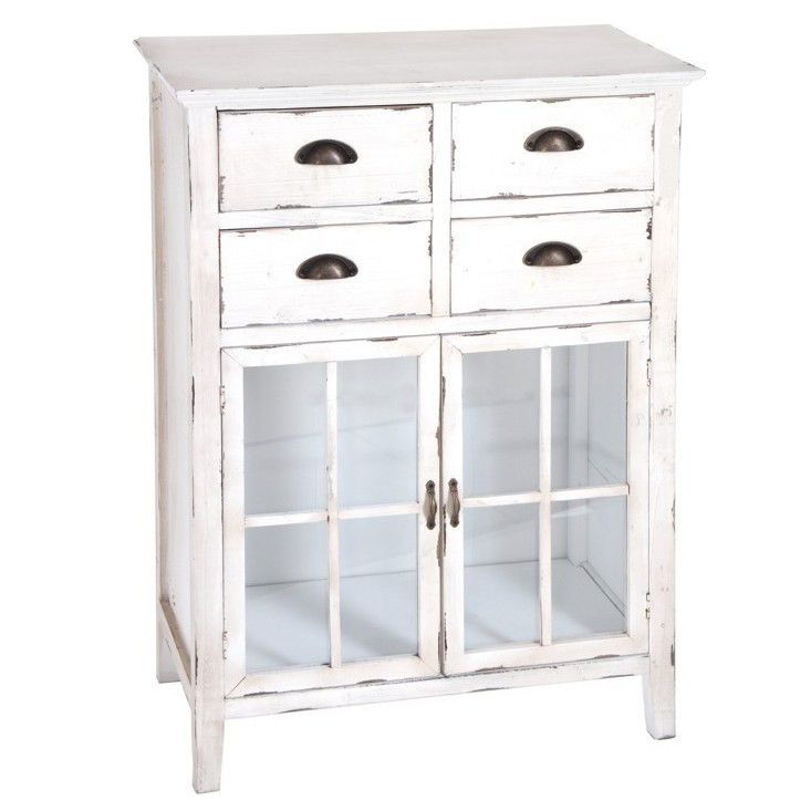 Mobiletto bianco shabby chic - Etnico Outlet mobili etnici ...