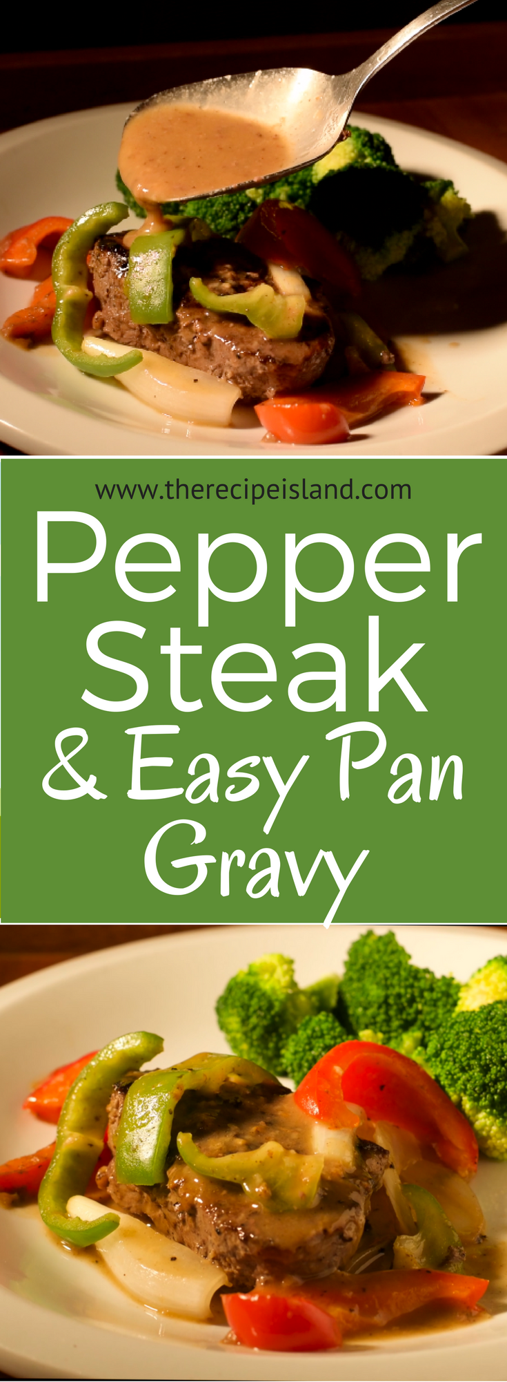 This Pepper Steak with Easy Pan Gravy takes only 30 minutes or less. Give it a try