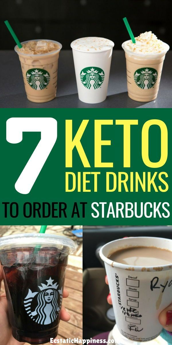 Low Carb Starbucks Drinks Guide for Keto Dieters