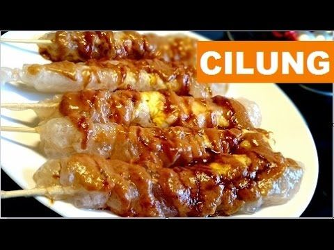 Resep Cilung Papeda Papeda Cilung Recipe Youtube Recipes Food Meat