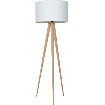 Homey Wooden Tripod Floor Lamp And Lamp and wood tripod floor lamp with  glass tray table