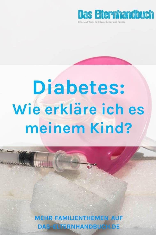 Weißt Du, was Diabetes bedeutet? Kindern Diabetes erklären..