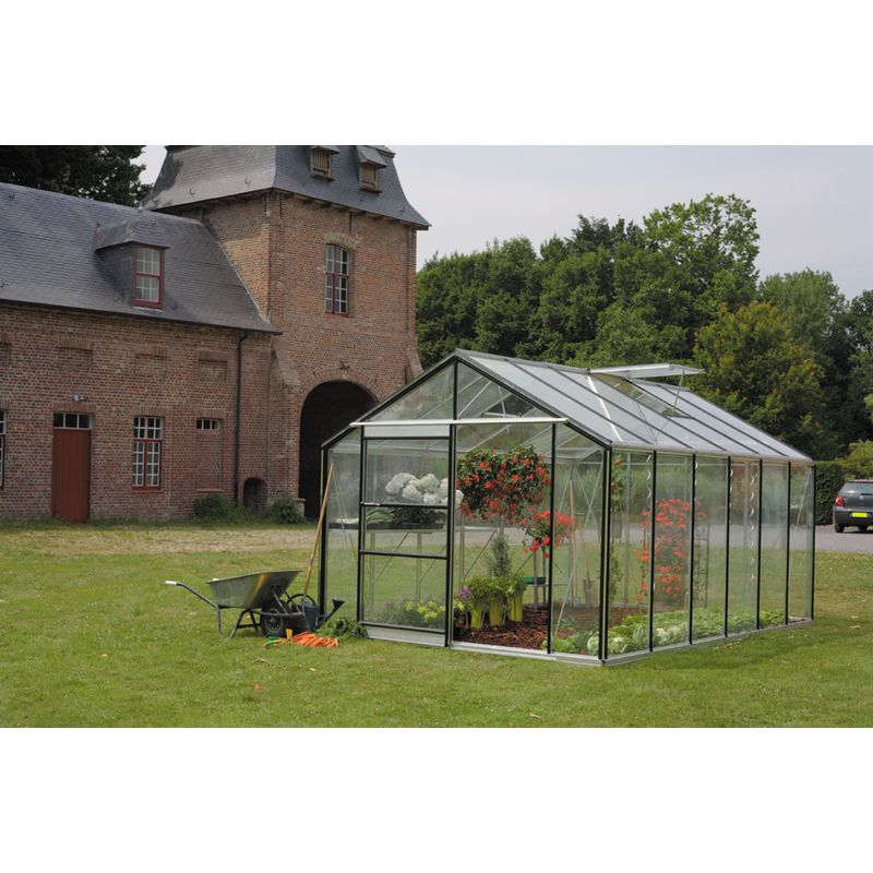Serre Royal 24 En Verre Securit 4mm Avec Embase 7 M Acd