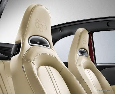 The New Abarth 695 Tributo Maserati Maserati Fiat 500 Car Seats