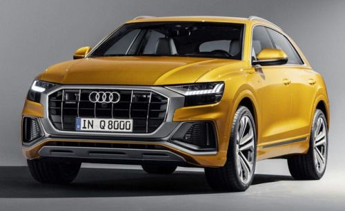 Audi Q8 2019 Pics Of The New Large Suv Coupé Have Leaked Ahead