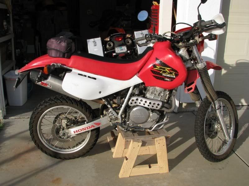Dirt Bike Stand By Scottrnelson Homemade Dirt Bike Stand