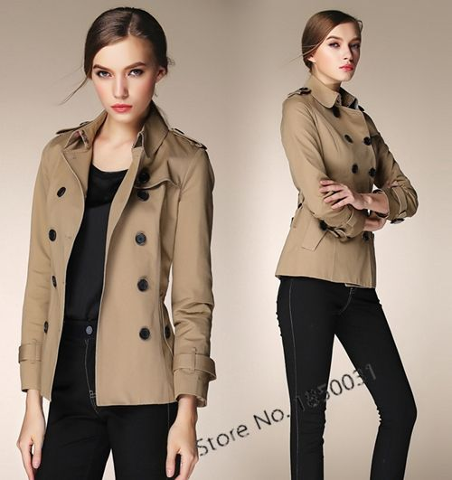 Image result for short trench coat women | Fall/WinterClothes ...