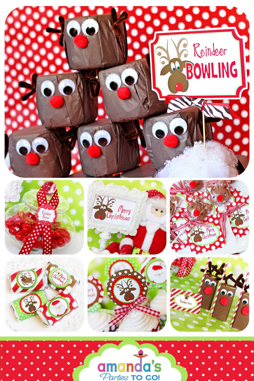 Reindeer Games Party Printables | Christmas Party | Dirty Santa ...