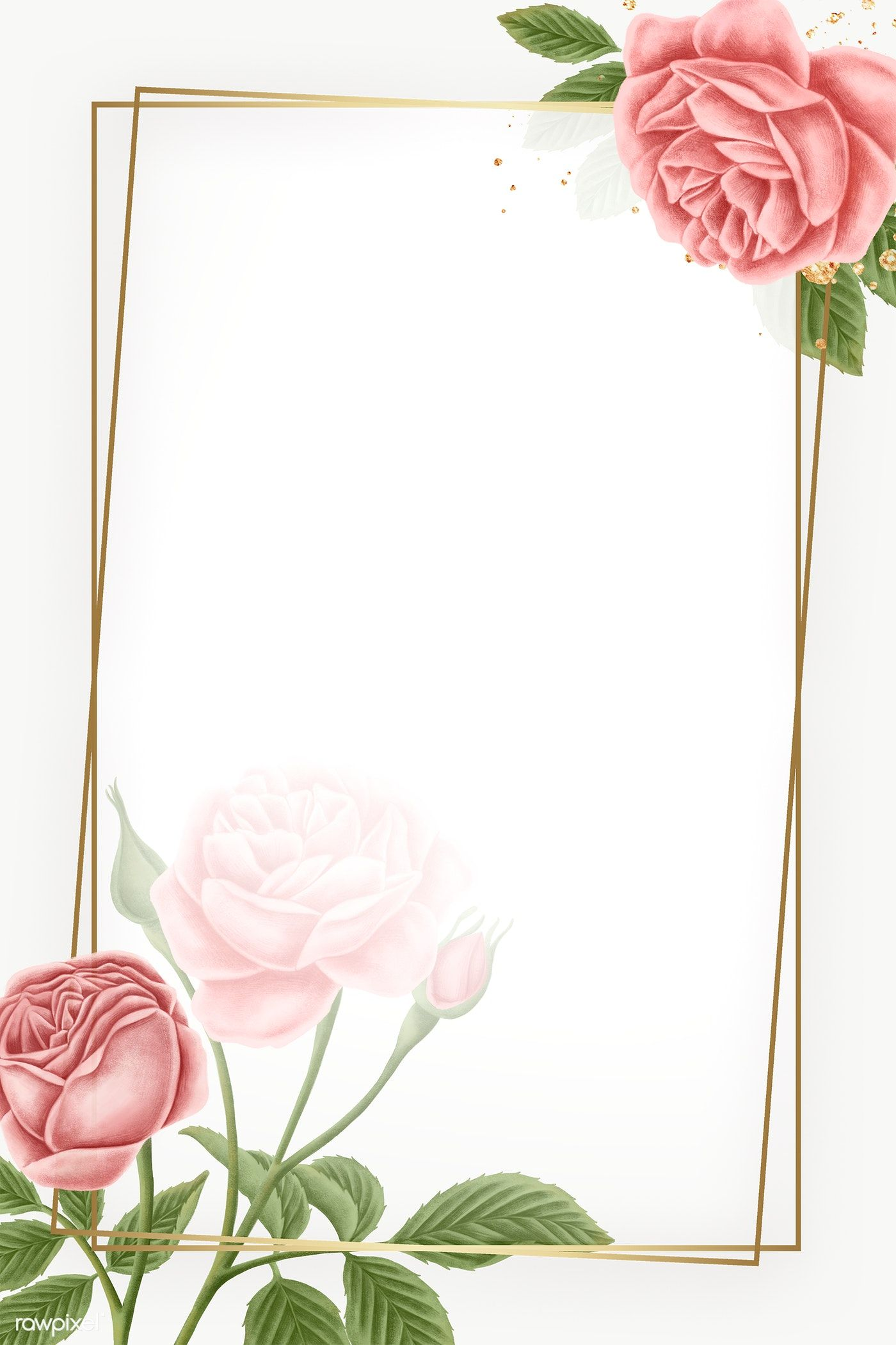 Download Premium Png Of Red Rose Frame Transparent Png 2221563 In 2020 Rose Frame Flower Frame Flower Phone Wallpaper