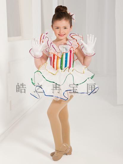 UK Girl Sequin Ballet Latin Gymnastics Leotard Dress Ballerina Dancewear Costume