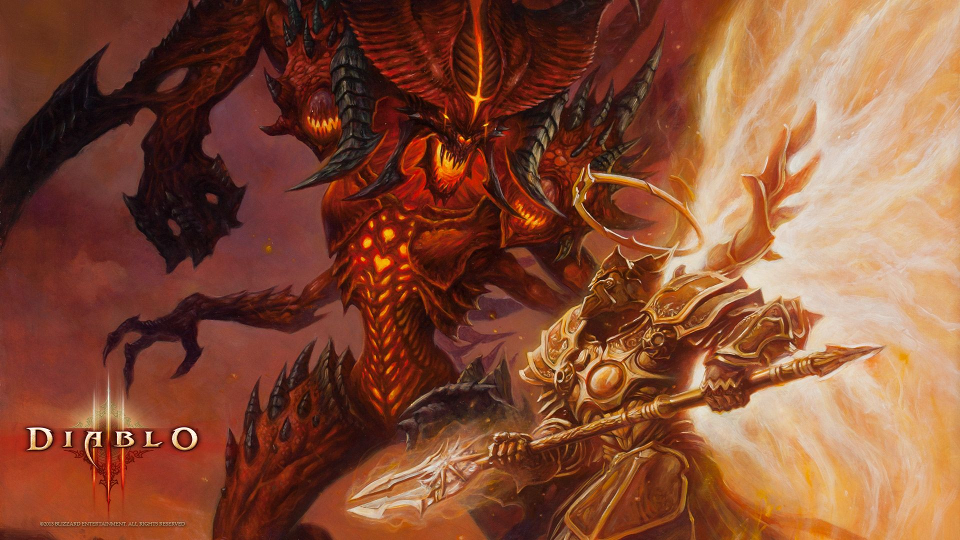 Diablo 3 Is The Macaroni And Cheese Of Video Games Diablo Game Dark Fantasy Art Diablo