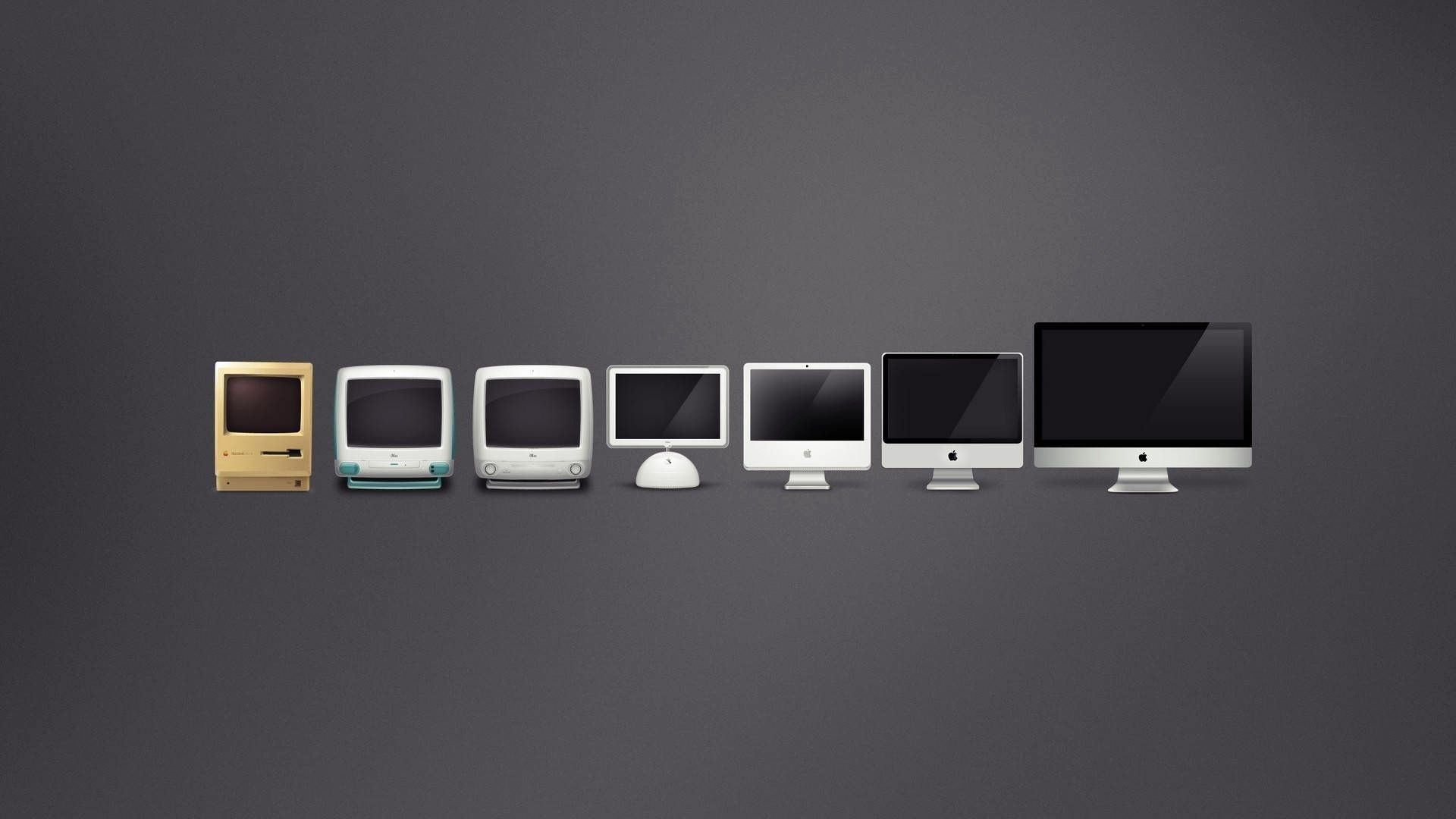 Download Wallpaper X Mac Apple Computers Evolution Full