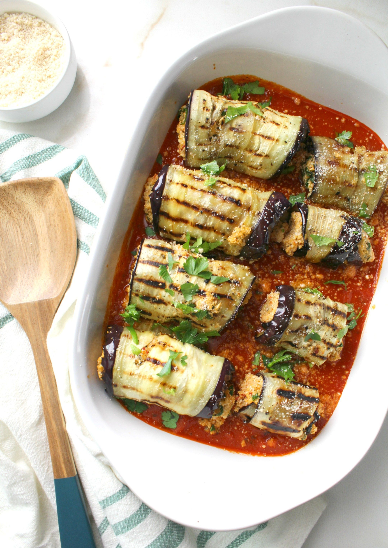 Mediterranean Vegan Eggplant Roll Ups This Savory Vegan Recipe In 2020 Vegan Eggplant Vegan Eggplant Recipes Savory Vegan