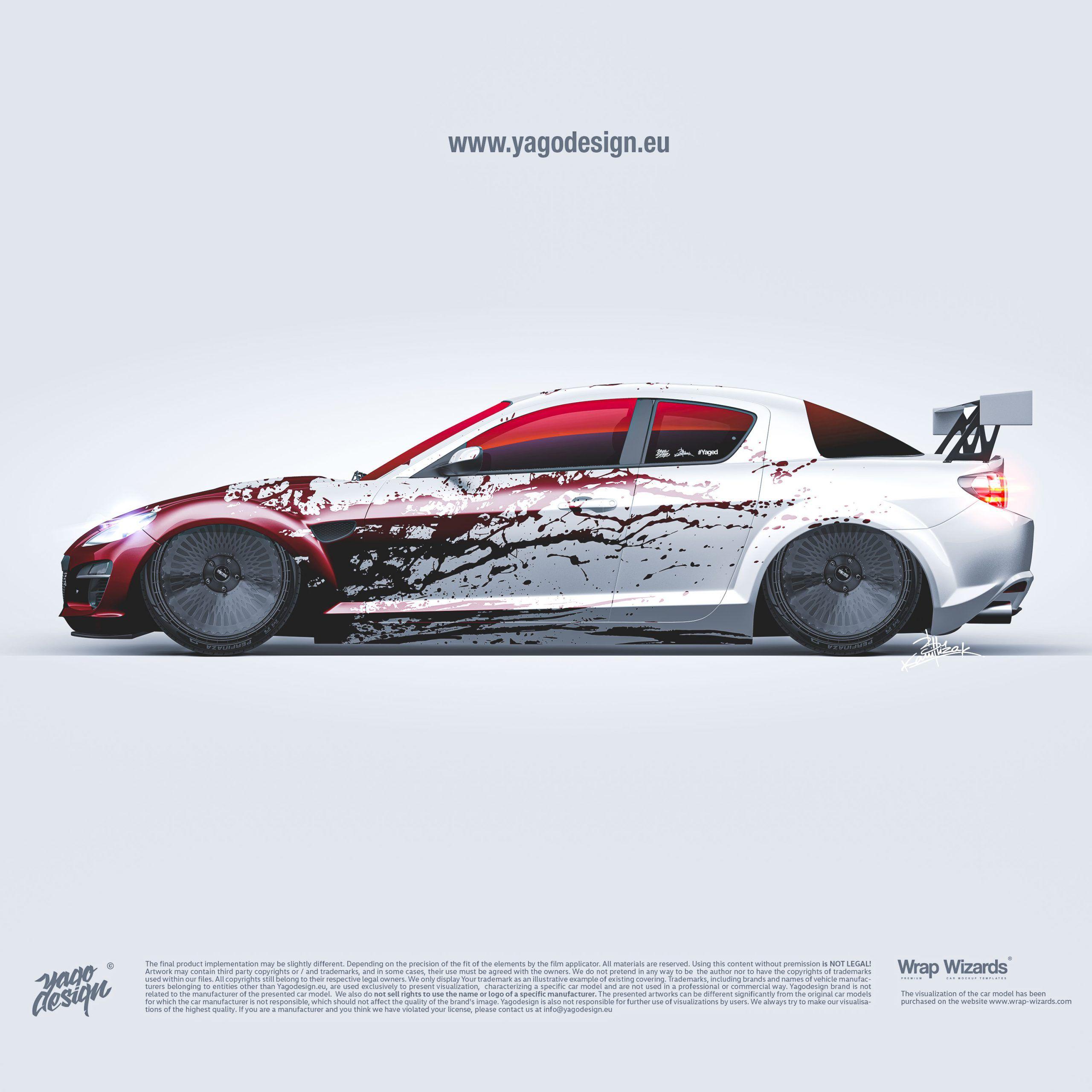 Mazda Rx 8 By Livery Design In 2020 Automotive Design Design Design Studio