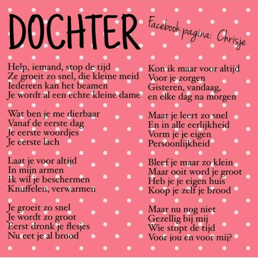 Citaten Voor Dochter : Mijn dochter gedichten pinterest