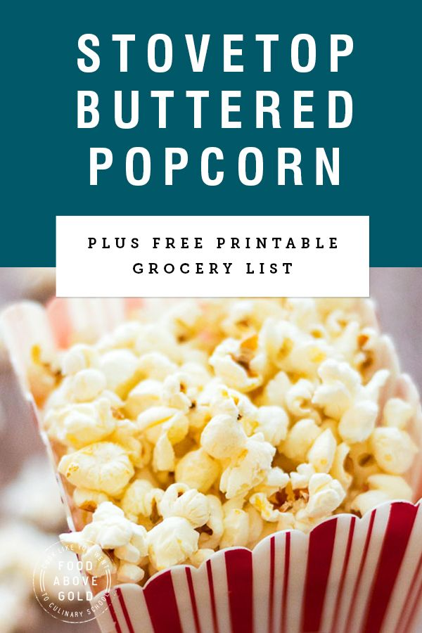 Homemade Buttered Popcorn That Isnt Soggy Recipe Snack