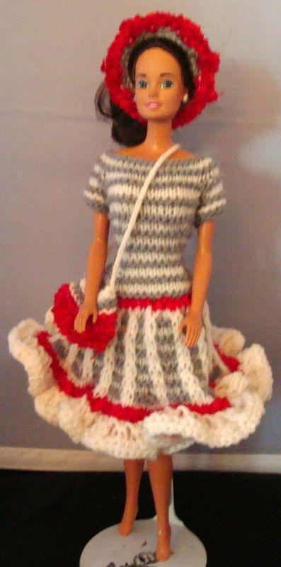 Ladyfingers - Barbie Patterns - Handout   Barbie Clothes   Pinterest ...