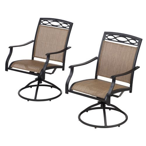 Patio Chairs At Academy Mosaic Sling Swivel Rocker Chair Set