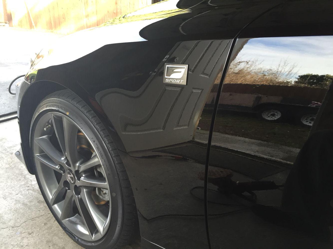 Pinnacle black label diamond coating. 2012 Lexus Is 250 F