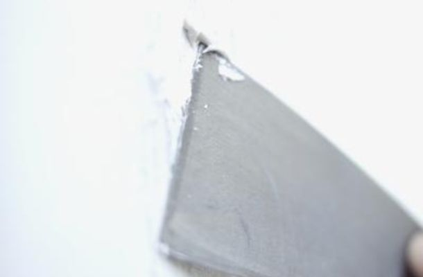 Make homemade spackle to us in a pinch for small holes in your walls.