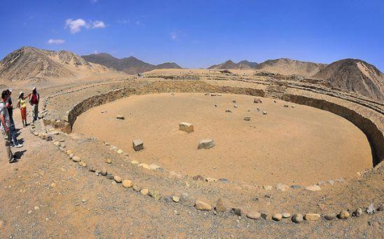 En Perú existió la primera ciudad sostenible de América.