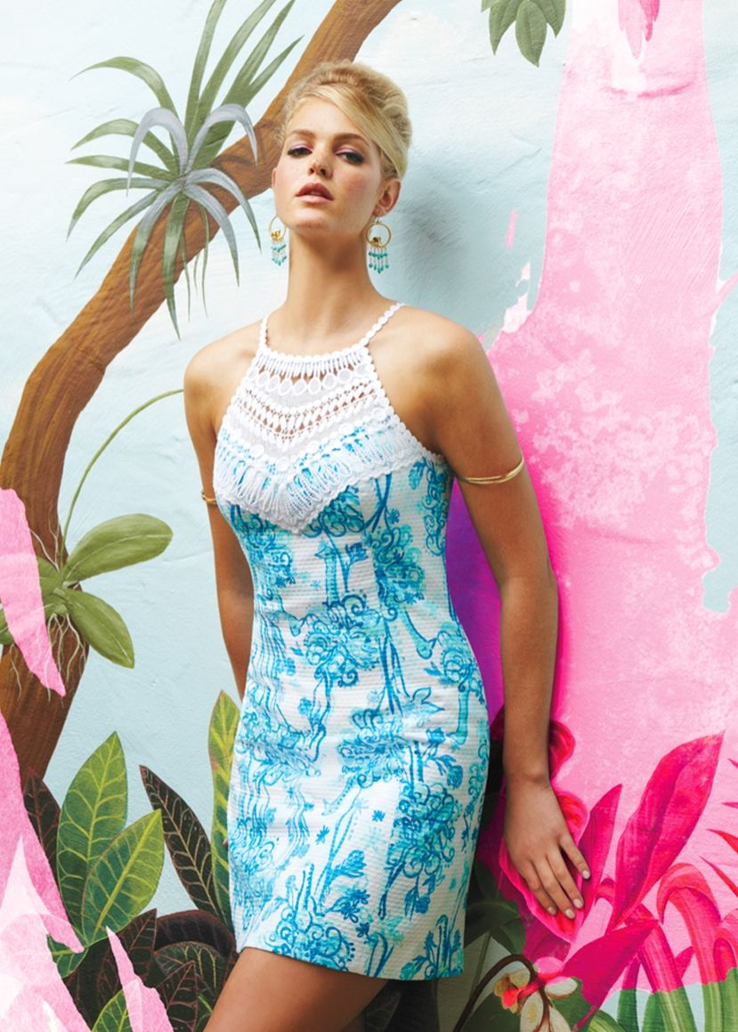 Pearl lace shift lilly pulitzer dress | Style lace dress