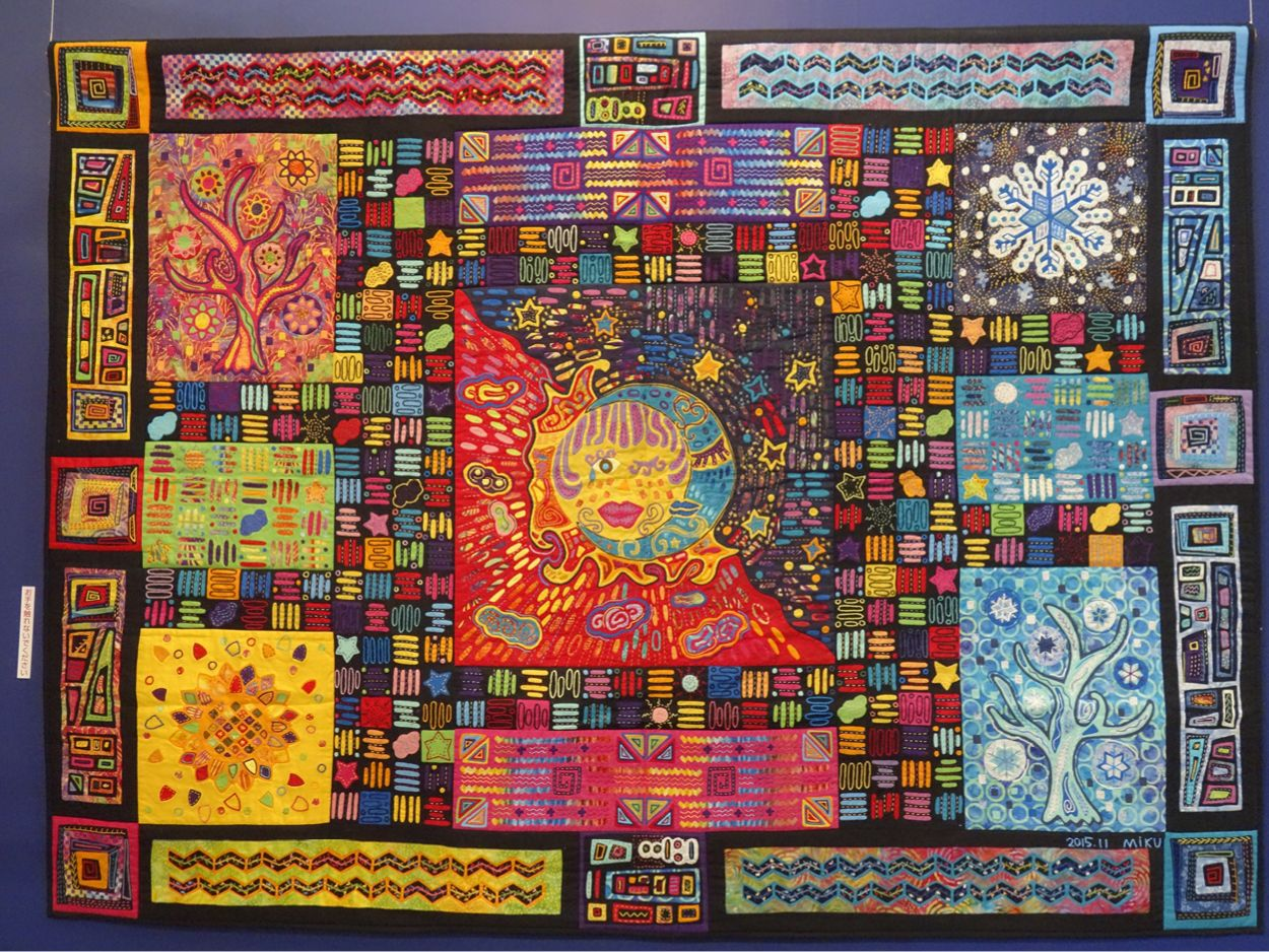 2017 tokyo quilt festival: part one   Quilt, Tokyo and Festivals : great quilts - Adamdwight.com